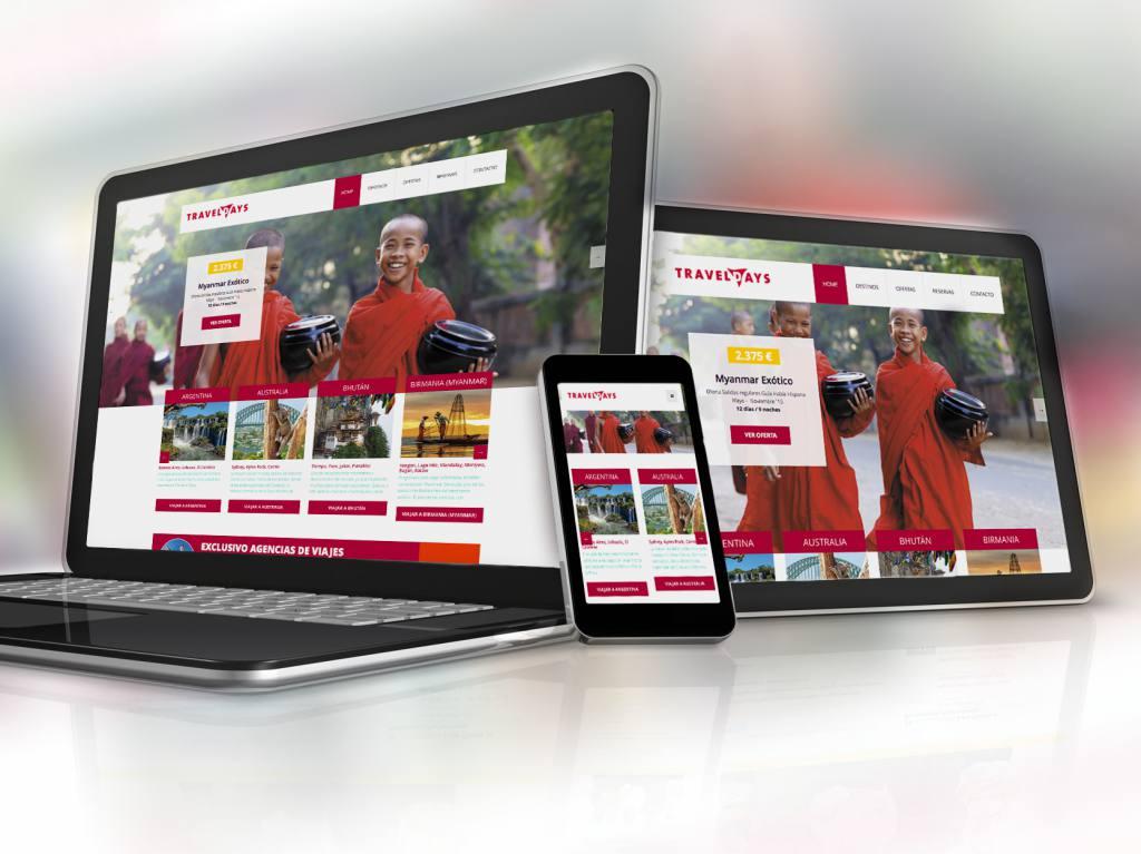 Ejemplo de página web realizada por egp