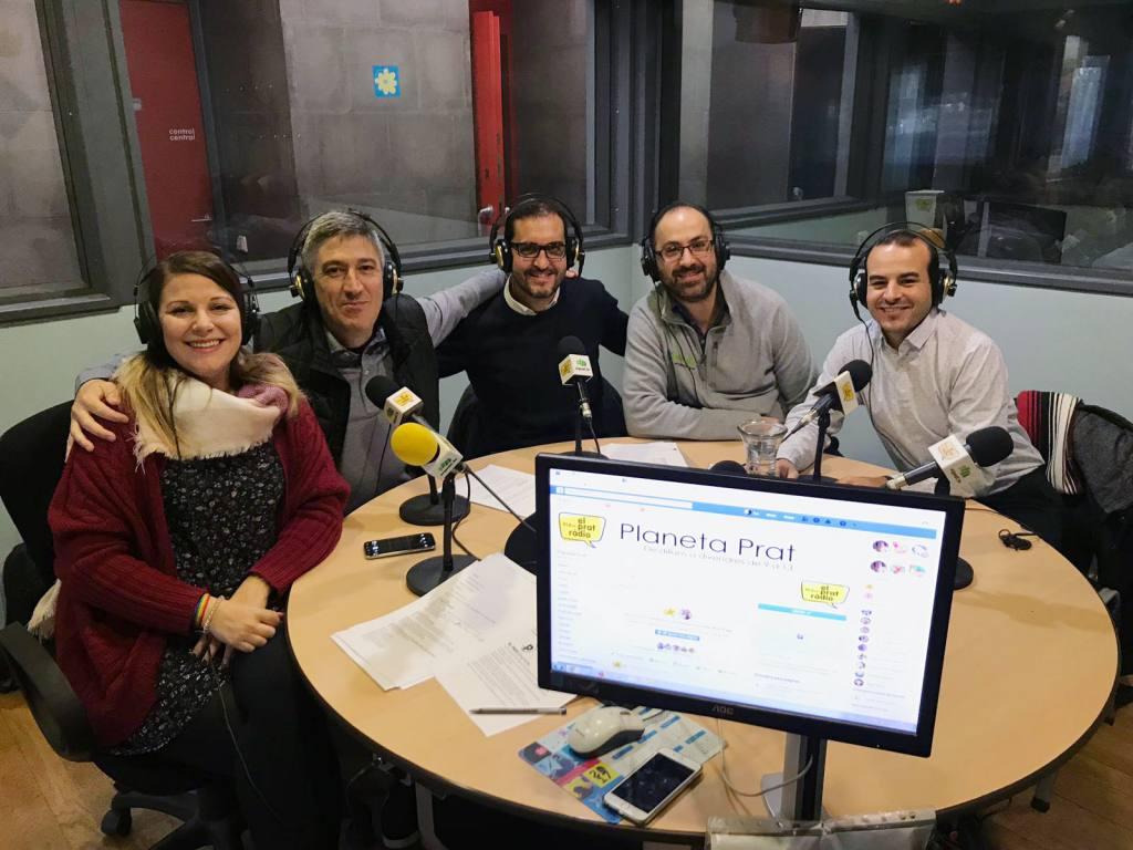 EGP en Prat Radio