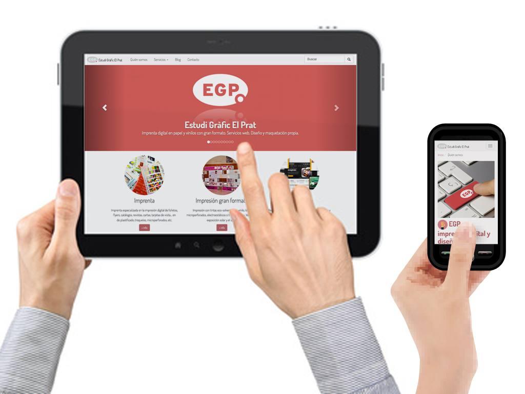 Nueva web de EGP